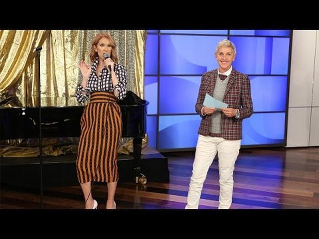 画像: Celine Dion Raps www.youtube.com