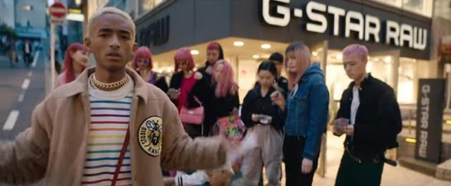 画像1: ジェイデン・スミス、日本で撮影したMVを公開!またまたあの人の姿も