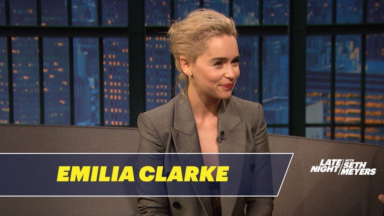 画像: Emilia Clarke Had an Awkward Meeting with Prince William www.youtube.com