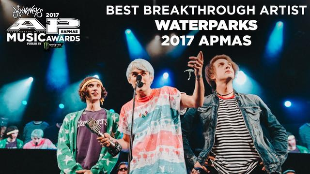 画像: APMAs 2017 Best Breakthrough Artist: WATERPARKS youtu.be