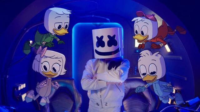 画像: Marshmello x DuckTales - FLY (Music Video) www.youtube.com