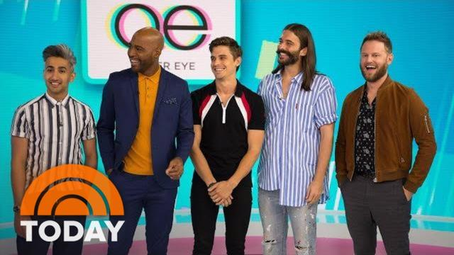 画像: The 'Fab 5' From 'Queer Eye' Visits TODAY, Shares Their Must-Have Style Products And More | TODAY youtu.be