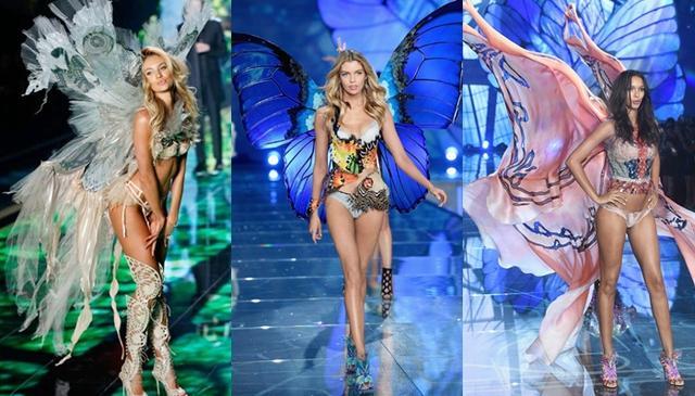 画像: 左からヴィクシーモデルのキャンディス・スワンポール、ステラ・マックスウェル、ライス・リベイロ。