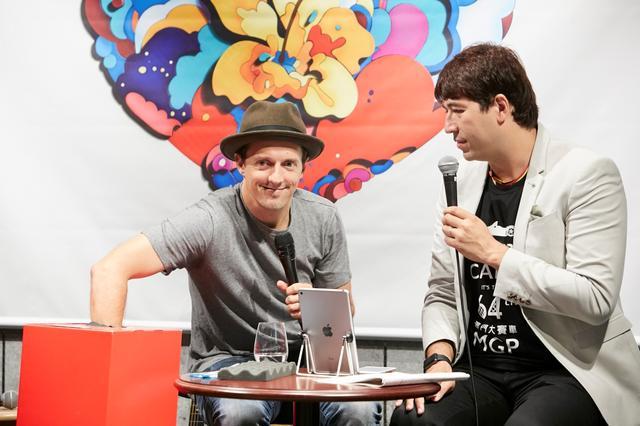 画像4: ジェイソン・ムラーズが渋谷のバリスタに!ファンイベントを開催