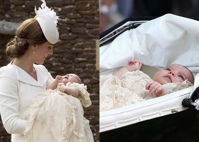 画像: シャーロット王女の洗礼式。