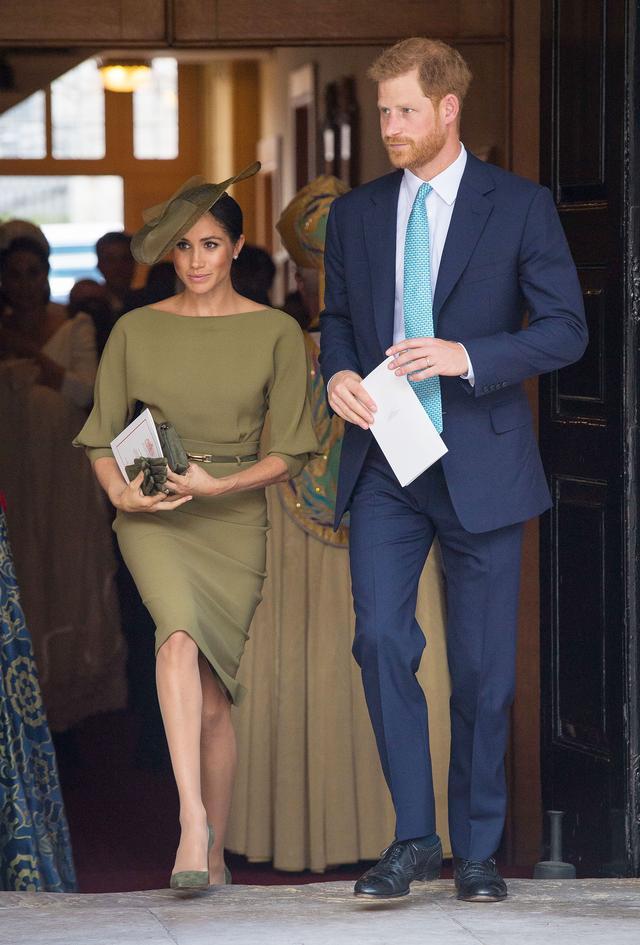 画像: ヘンリー王子&メーガン妃。