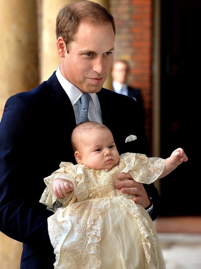 画像: ジョージ王子の洗礼式。
