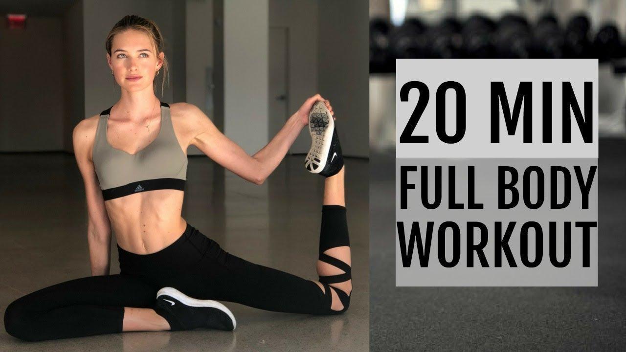 画像: 20 Minute Full Body Workout   What I Did To Get Ready For The Victoria's Secret Show www.youtube.com