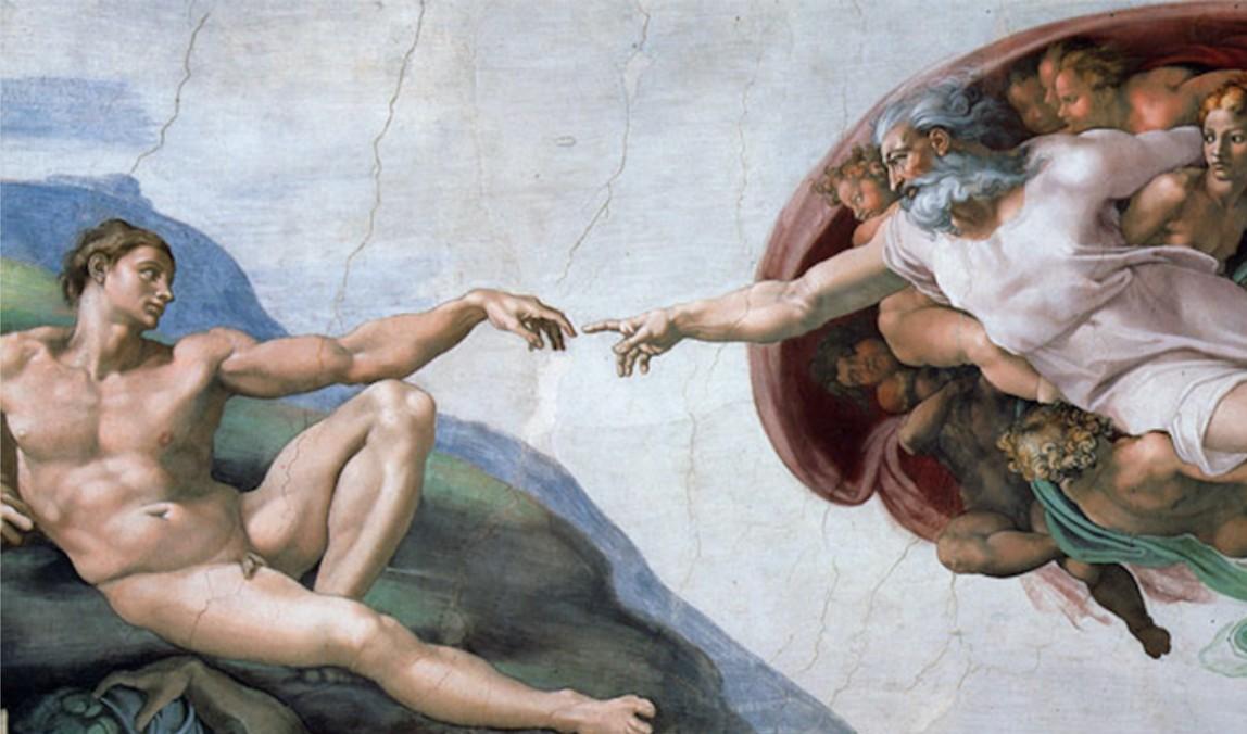 画像: 『アダムの創造』©Michelangelo di Lodovico