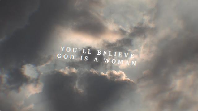 画像: Ariana Grande - God is a woman (Lyric Video) www.youtube.com
