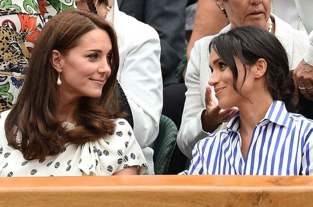 画像4: キャサリン妃&メーガン妃、テニス観戦の爽やかコーデがオシャレ