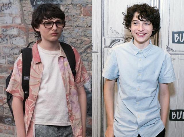 画像: 左は映画『IT/イット』のリッチー役の時のフィン。普段の姿(写真右)とはまるで別人のよう!?