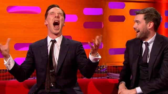 画像: BENEDICT CUMBERBATCH does Chewbacca Impression - The Graham Norton Show BBC AMERICA youtu.be