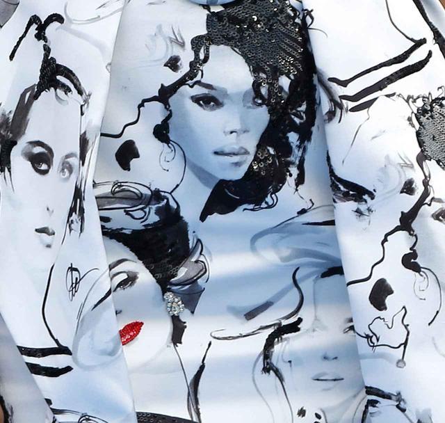 画像: 著名なファッション・アーティスト デイビット・ダウントンとのコラボレーションによって誕生。
