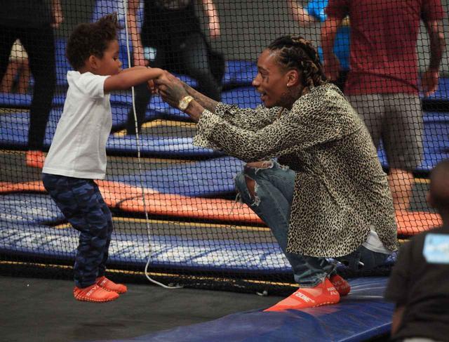 画像: ウィズ・カリファ、息子の「ある行動」でファンが大盛り上がり