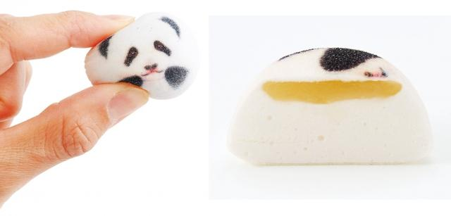 画像1: ミニ和風マシュマロ パンダのほうずいが発売