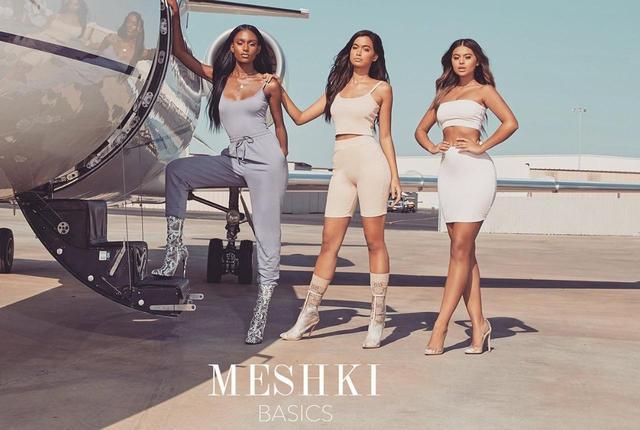 画像1: セレブの間で、2人の大学生が立ち上げたブランド「Meshki」のトップスが大人気!