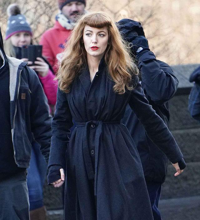 画像: 今年1月にニューヨークで同作の撮影を行っていた時のブレイク。