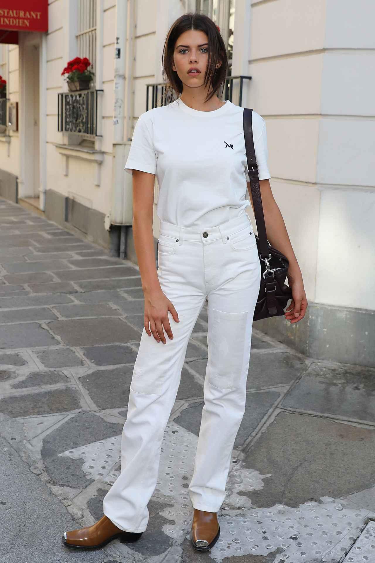 画像3 夏だからこそ挑戦したい!海外セレブの「ホワイトコーデ」を. ファッション
