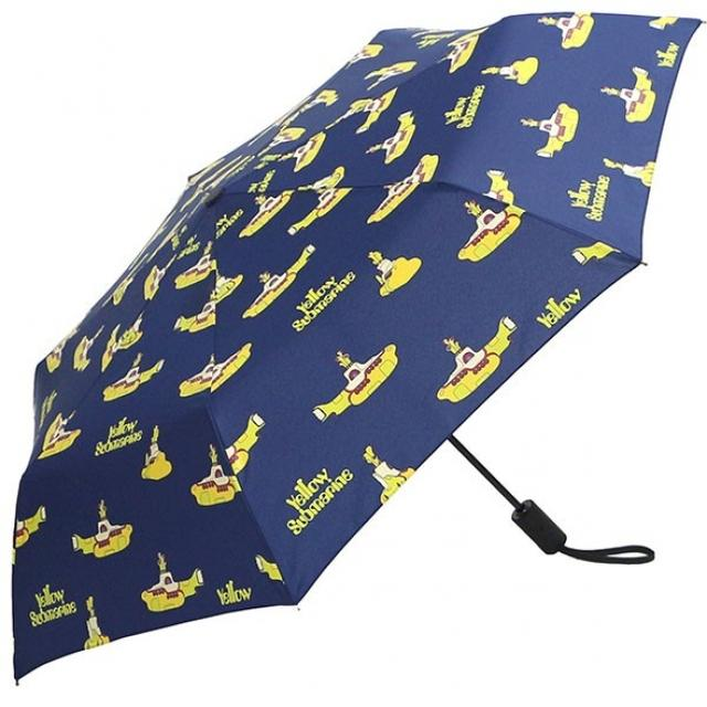 画像: Yellow Submarine Polka Dot Umbrella【傘】¥3,780