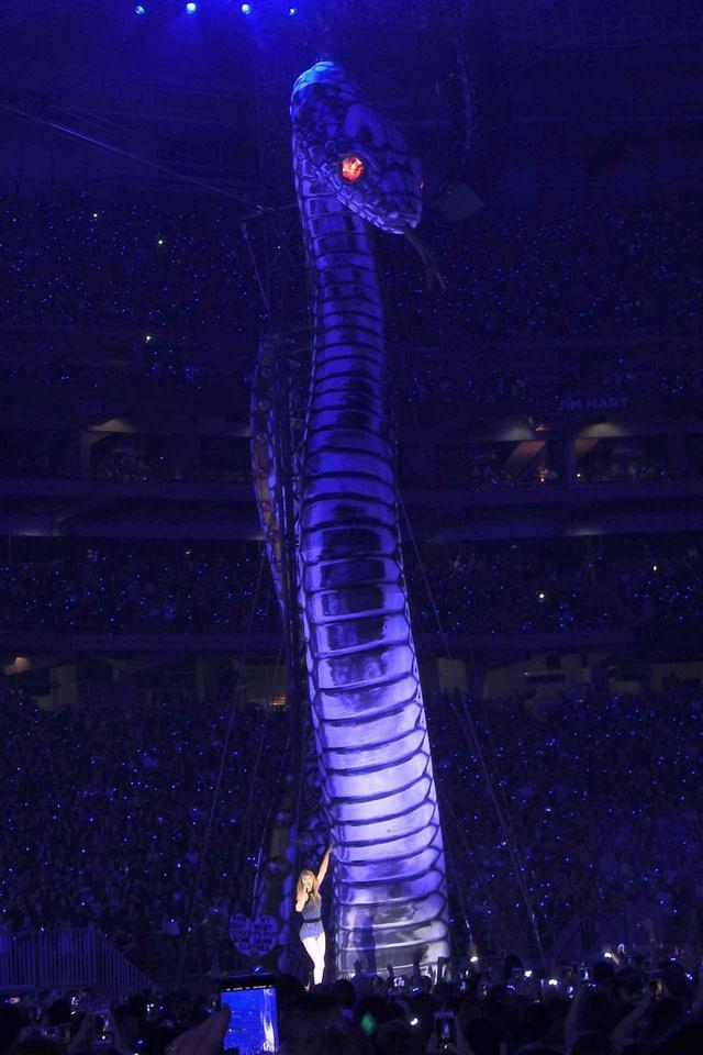 画像1: 5. 6メートルの巨大ヘビが登場