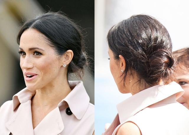 画像1: メーガン妃がいつも「お団子ヘア」をしている理由が目からウロコ