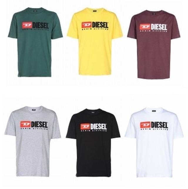 画像: DIESEL LOGO Tシャツ ユニセックス 各¥9,800(税抜)