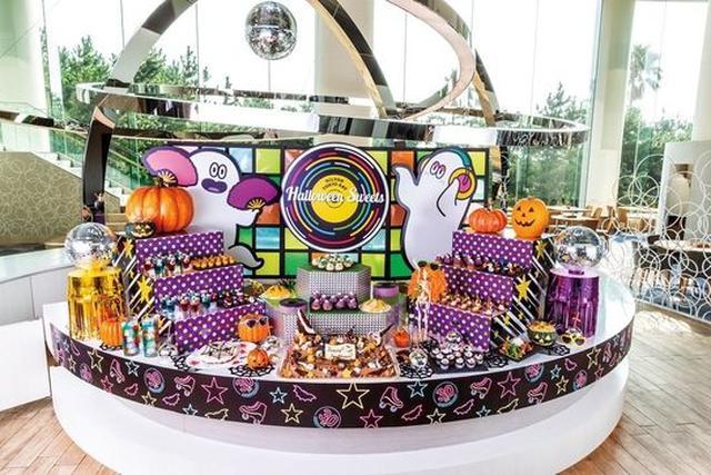 画像: 約35種類のデザート&軽食メニューが食べ放題「ハロウィーン・ディスコ」