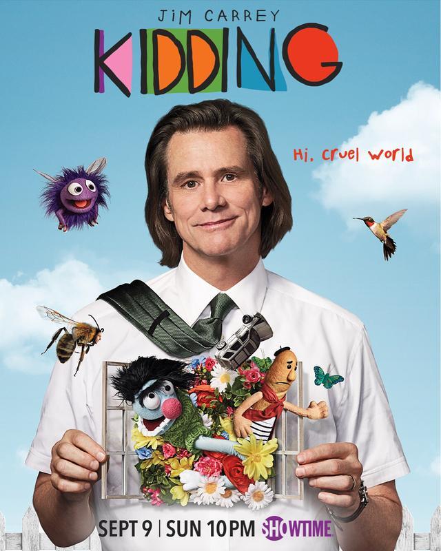 """画像1: KiddingさんはInstagramを利用しています:「""""It's the part of you that no-one can see."""" - Mr. Pickles  #Kidding, starring Jim Carrey, premieres Sunday, September 9 on #Showtime.…」 www.instagram.com"""