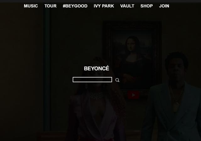 画像: www.beyonce.com