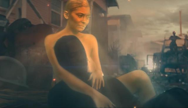 画像2: カイリーが「黄金の女神」に