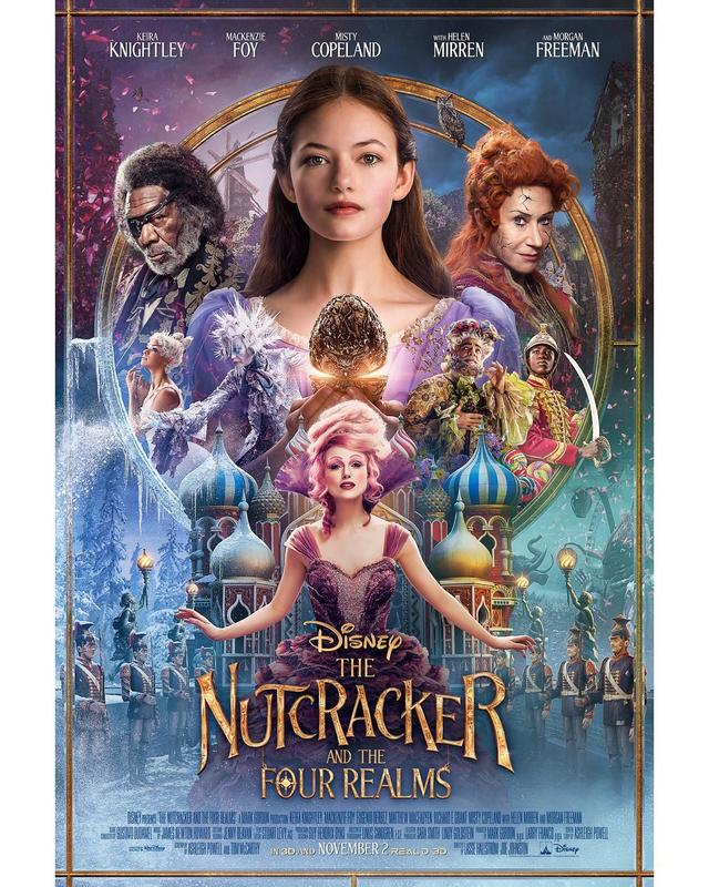 画像1: Disneys NutcrackerさんはInstagramを利用しています:「Check out the all-new poster for #DisneysNutcracker and the Four Realms.」 www.instagram.com