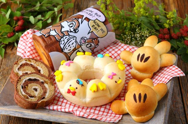 画像: パン作りが楽しめる特別コース『ディズニー期間限定ブレッドクラス』