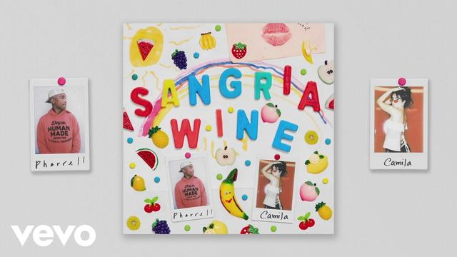画像: Pharrell Williams x Camila Cabello - Sangria Wine (Official Audio) www.youtube.com