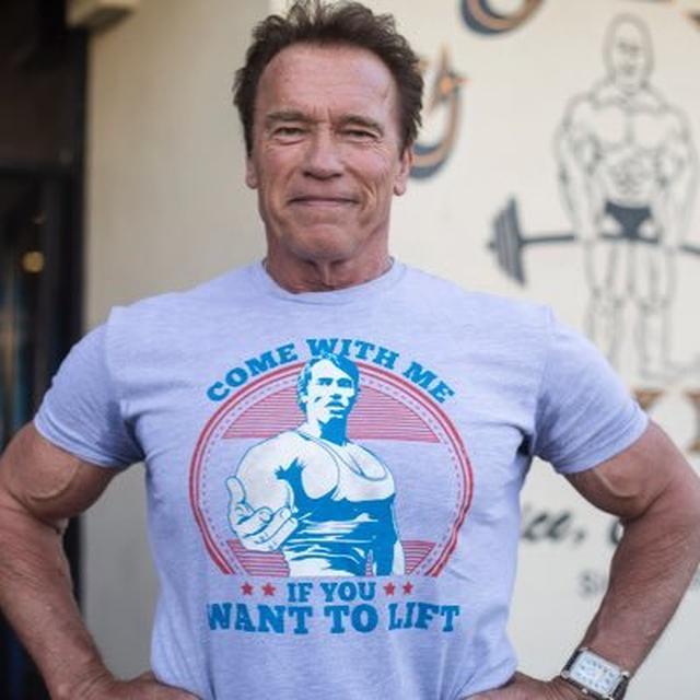 画像: Arnold on Twitter twitter.com