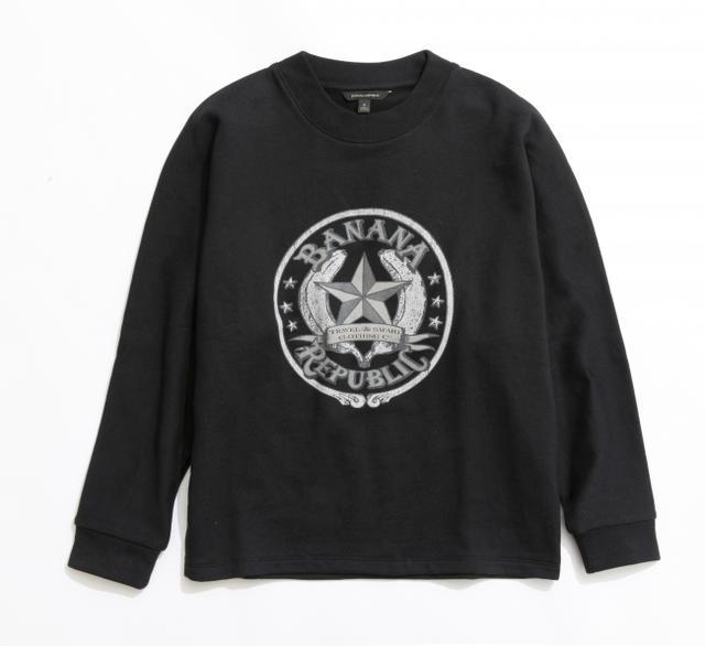 画像: ヘリテージ・サファリスウェットシャツ<ウィメンズ>ブラック(バナナスター)/8,900円(税込)