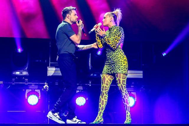 画像: VMAのプレパーティーで、シンガーのリアム・ペインとサプライズパフォーマンスを披露したリタ。