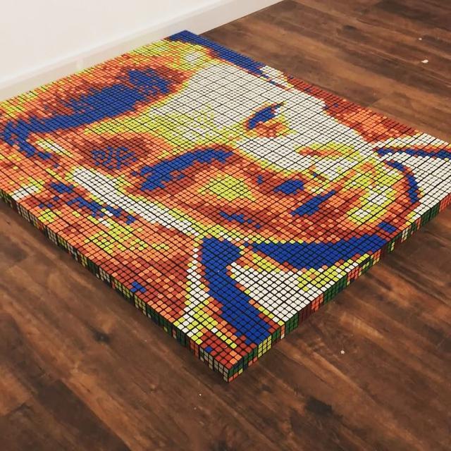 """画像1: Giovanni Contardi on Instagram: """"Eleven ~ 720 Rubik's cubes. As promised, here's @milliebobbybrown! Tag and share if you think she should see it! ✋"""" www.instagram.com"""