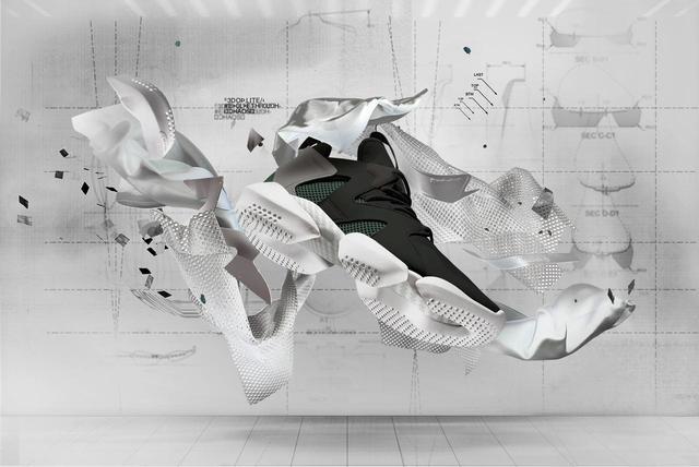 画像1: リーボック、話題の独特のボリューミーなスニーカー3D OP. LITE LEGACY発売