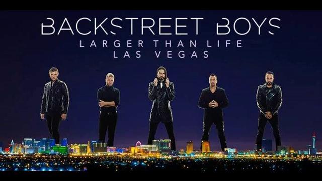 画像: ラスベガスの常設公演『BackstreetBoys: Larger Than Life』は2019年まで続く予定。