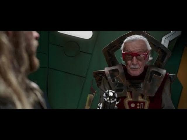 画像: Thor Ragnarok - Stan Lee's Cameo|Thor Gets Haircut www.youtube.com