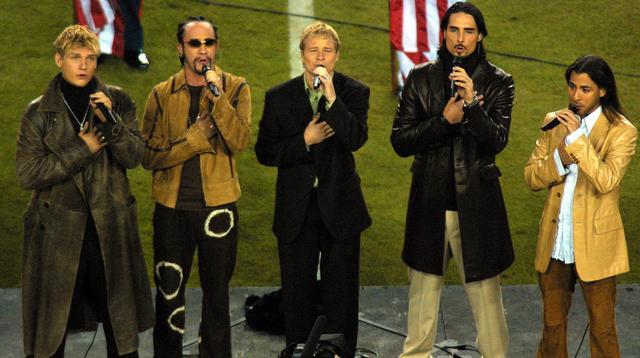 画像: 2011年のスーパーボウルではバックストリート・ボーイズが国歌のパフォーマーに抜擢された。