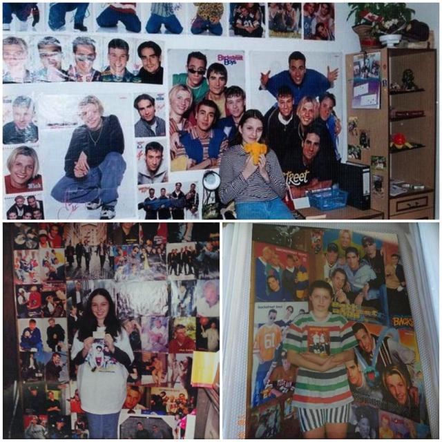 画像: この頃の若者の部屋には当時の熱狂ぶりが表れている。©Backstreet Boys/Twitter