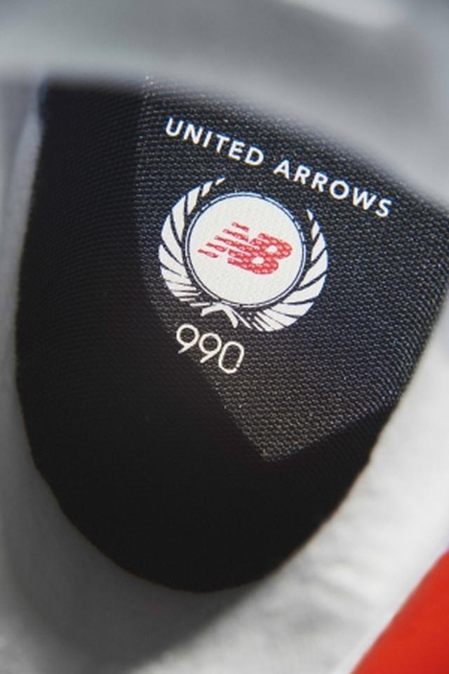 画像2: ニューバランス、ユナイテッドアローズとコラボスニーカー「990v4」発売
