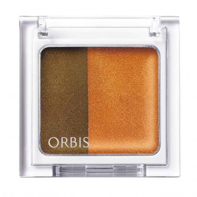 画像1: オルビスより濃淡2色を指で重ねて簡単に立体感グラデが完成するアイカラー