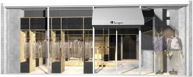画像1: チャンピオン原宿店リニューアル、オープン記念ノベルティ「オリジナルスウェット地巾着」も