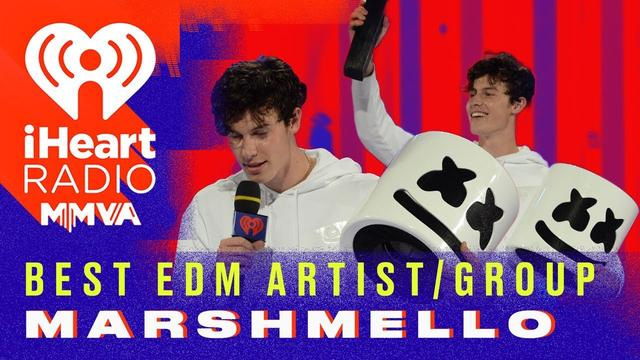 画像: Marshmello wins Best EDM/Dance Artist or Group | 2018 iHeartRadio MMVA www.youtube.com