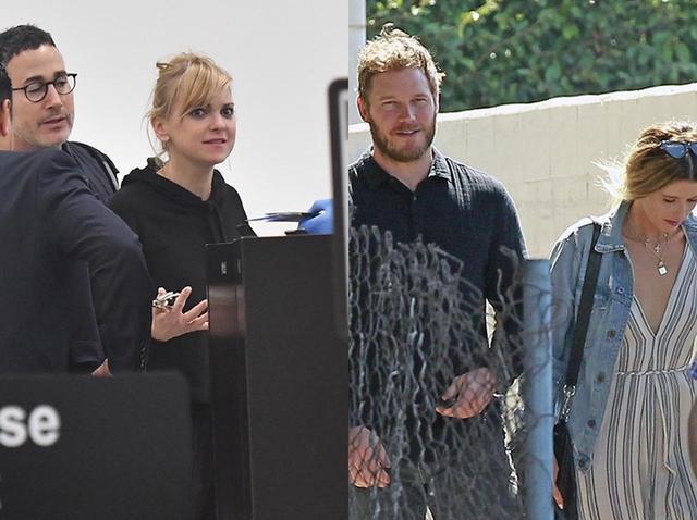 画像: マイケルとアンナ(写真左)、クリスとキャサリン(写真右)
