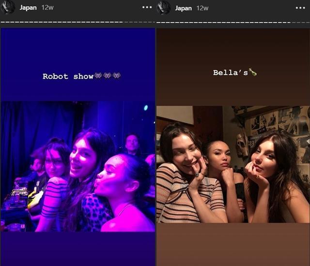 画像: いずれも写真左がベラ。©Camila Morrone/ Instagram