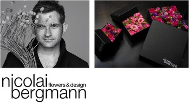 画像: ニコライ バーグマン フラワーズ&デザイン と全面コラボレーション